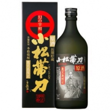 小松帯刀原酒 720ml